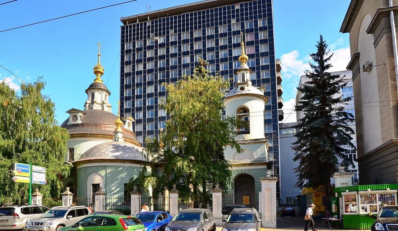 улица маросейка Дом 14 Храм Космы и Дамиана