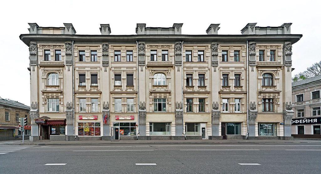 улица Покровка Дом 19 дом с колосьями