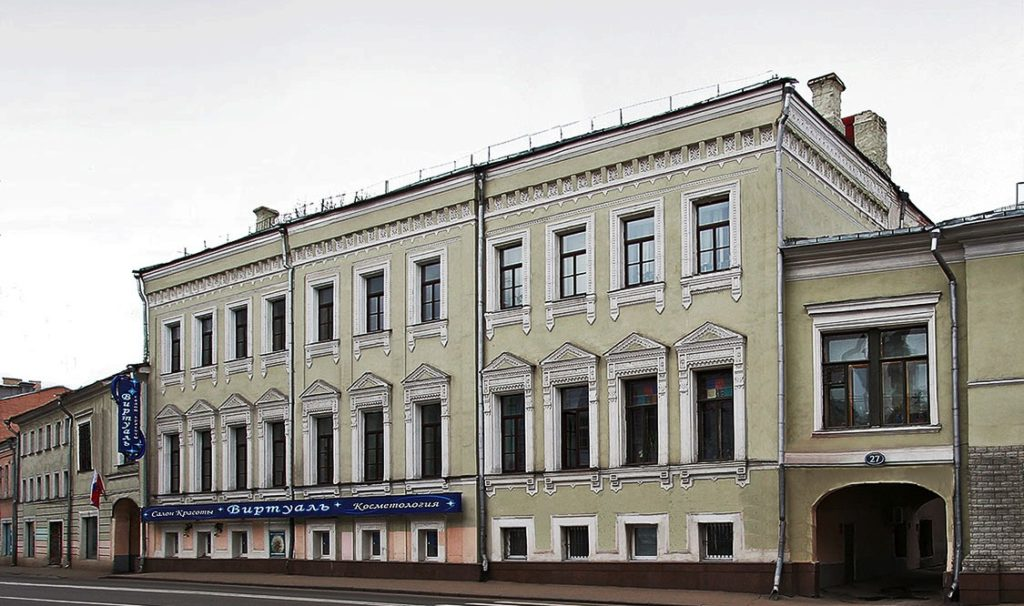 улица Покровка Дом 27 - дом Боткиных