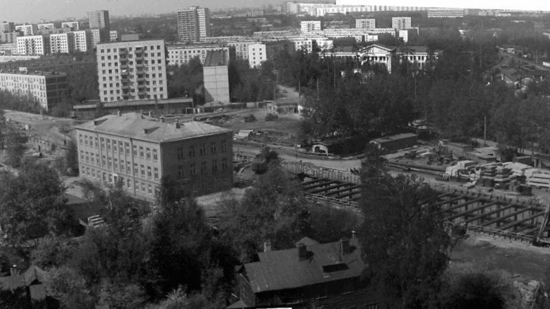 Свиблово застройка района 1960 г.