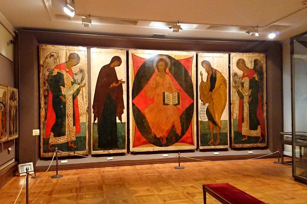 зал древнерусского искусства Третьяковская галерея