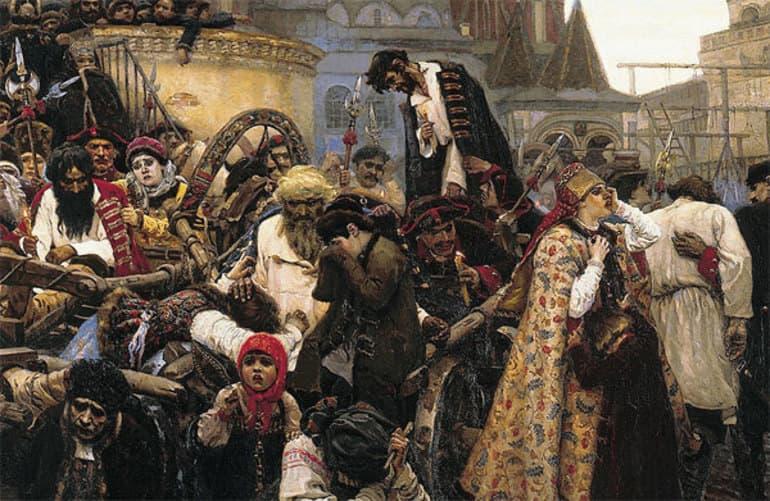 Утро Стрелецкой казни