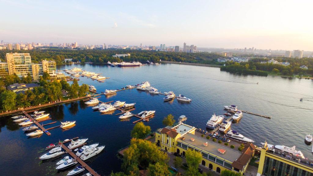 Пристань на Москве реке