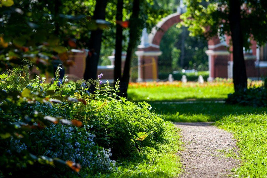 Итальянский сад в усадьбе Воронцово