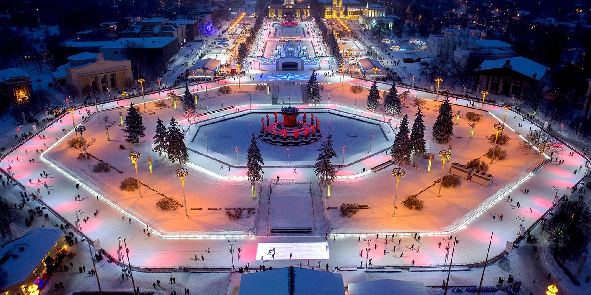 Катки в Москве