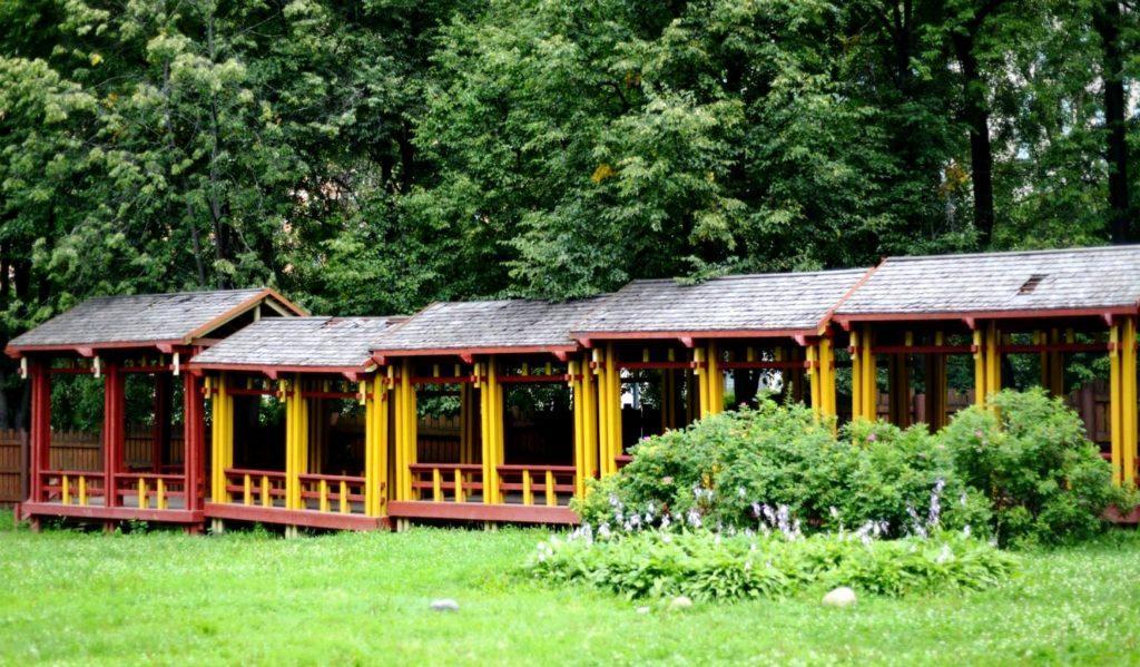 Китайский сад в усадьбе Воронцово