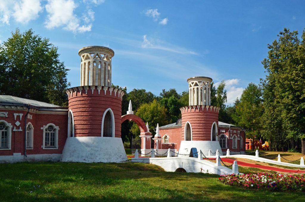 въездные ворота усадьба Воронцово