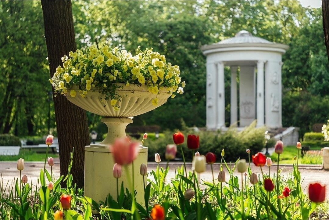 Нескучный сад в Москве