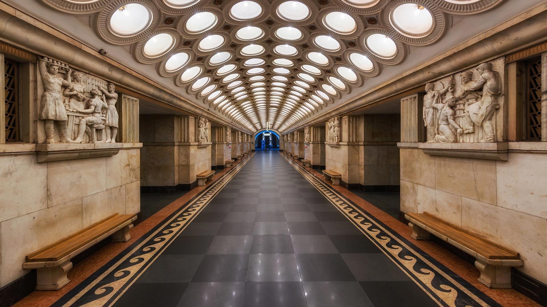 станция метро Электрозаводская