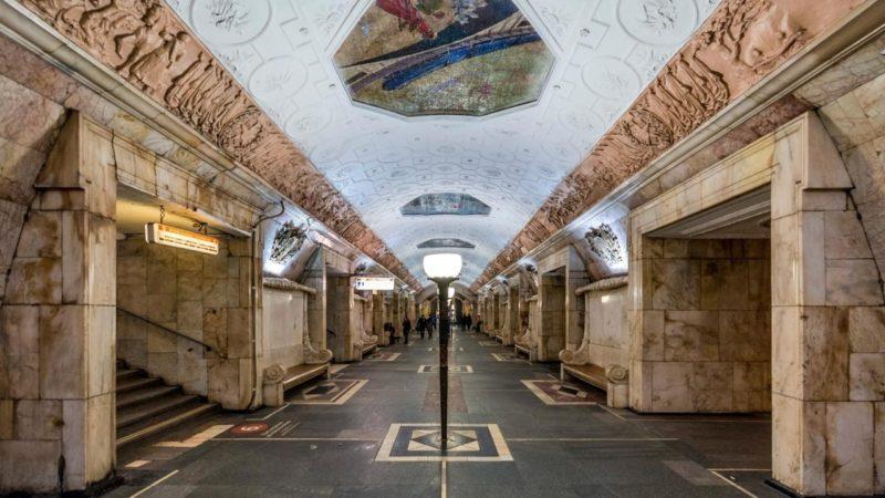 Станция метро Новокузнецкая