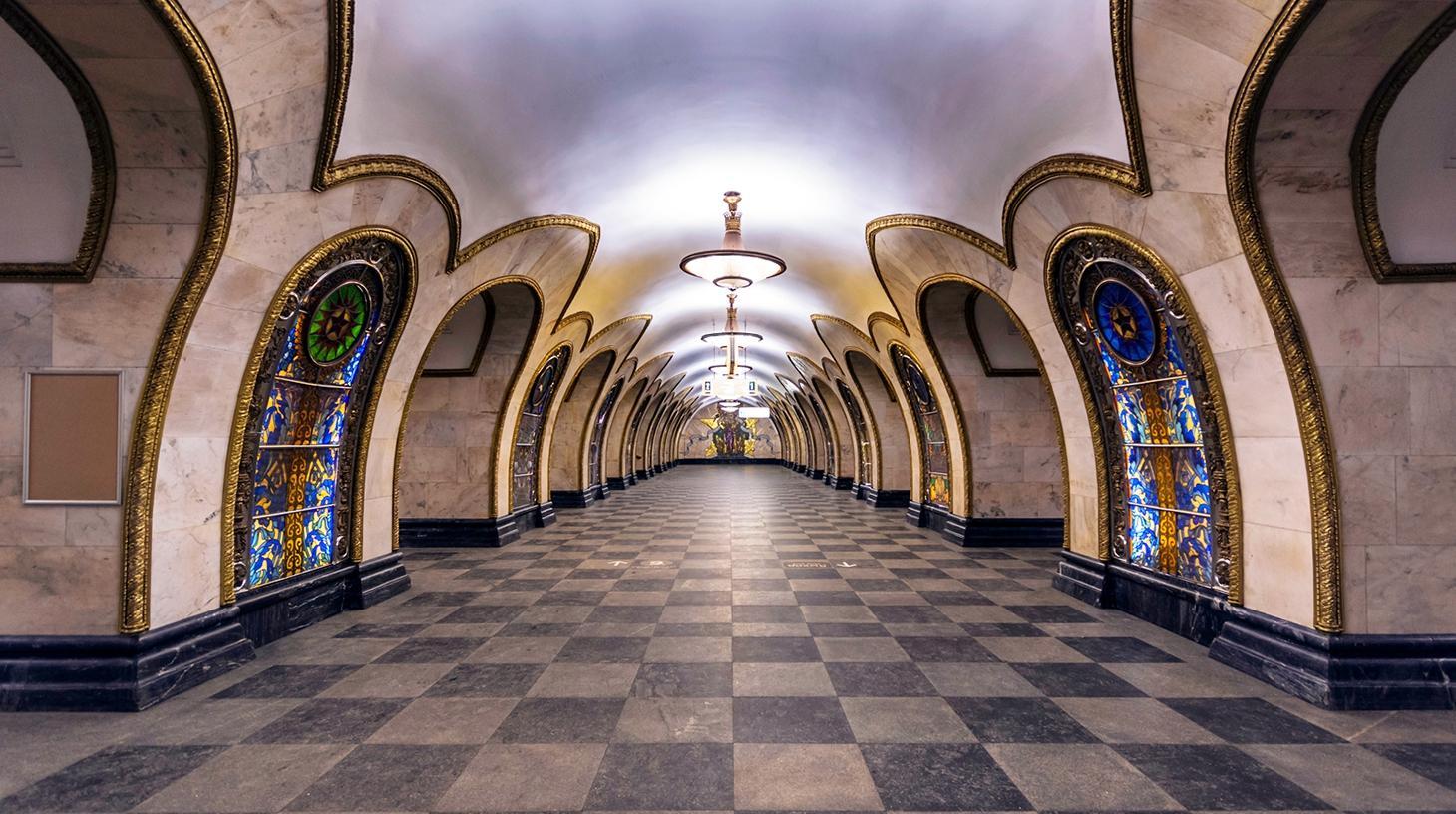 станция метро Новослободская