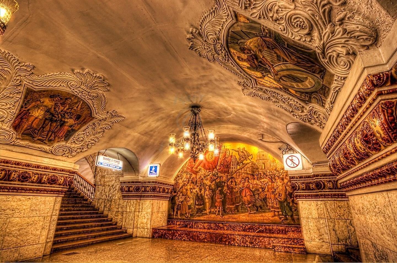 ТОП 10 станций московского метро
