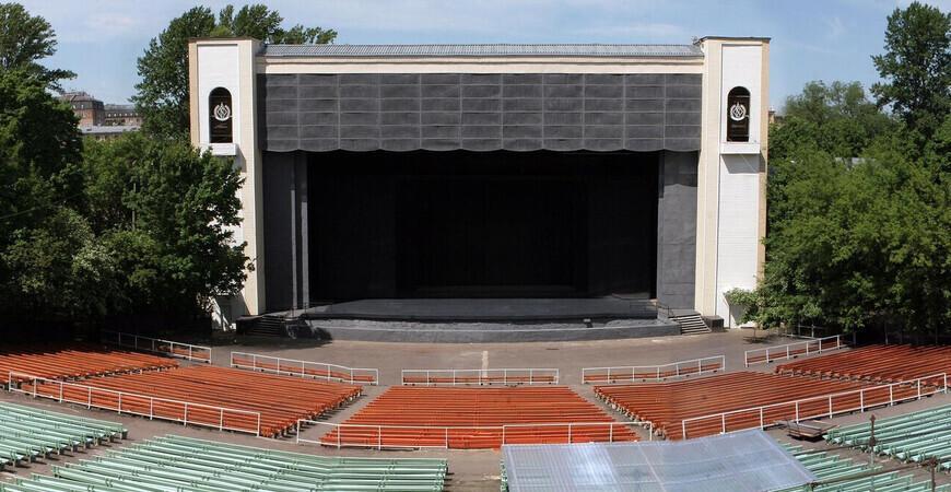Зеленый театр в Нескучном саду