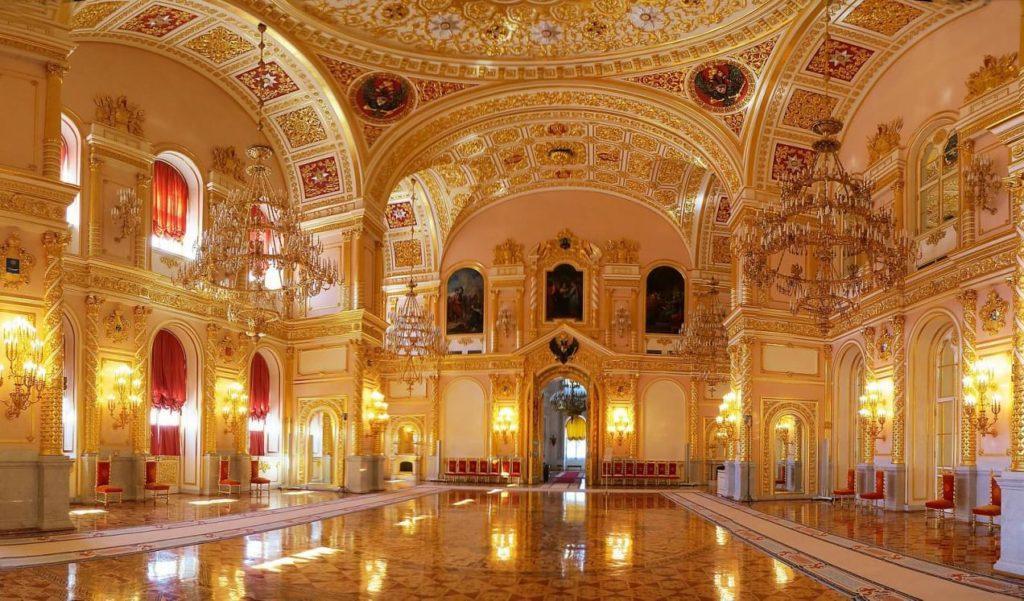 Александровский зал Большого Кремлевского дворца