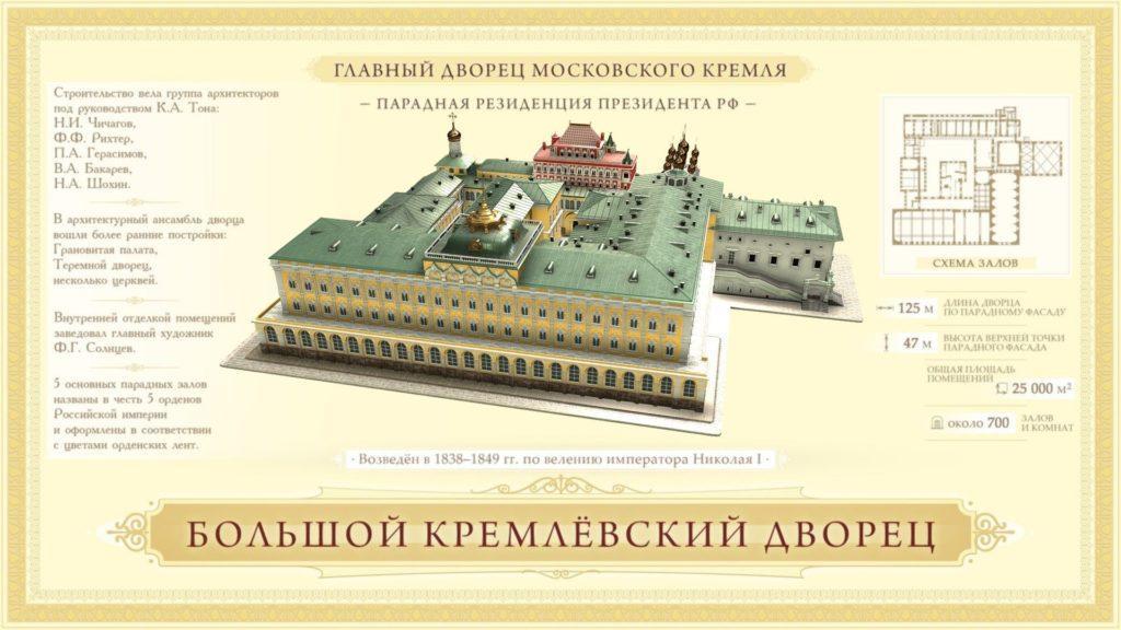 Главный дворец Московского Кремля