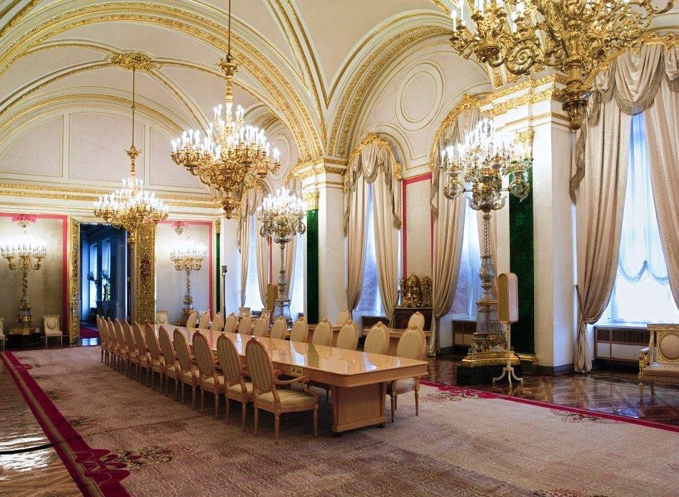 Екатерининский зал Большого Кремлевского дворца