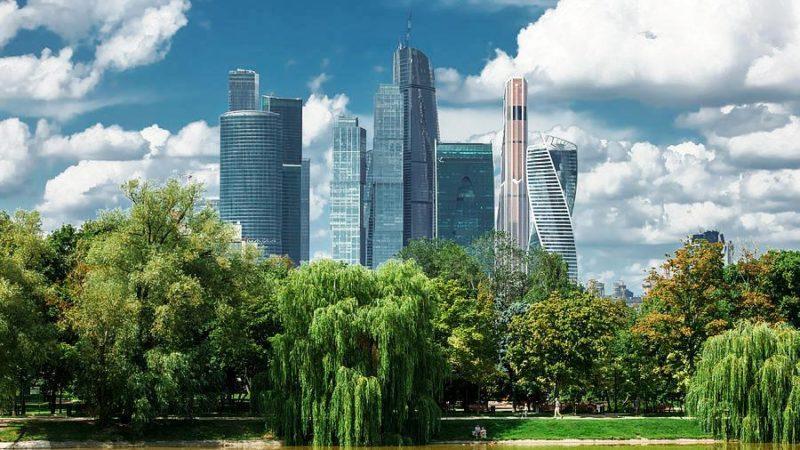 зеленая Москва