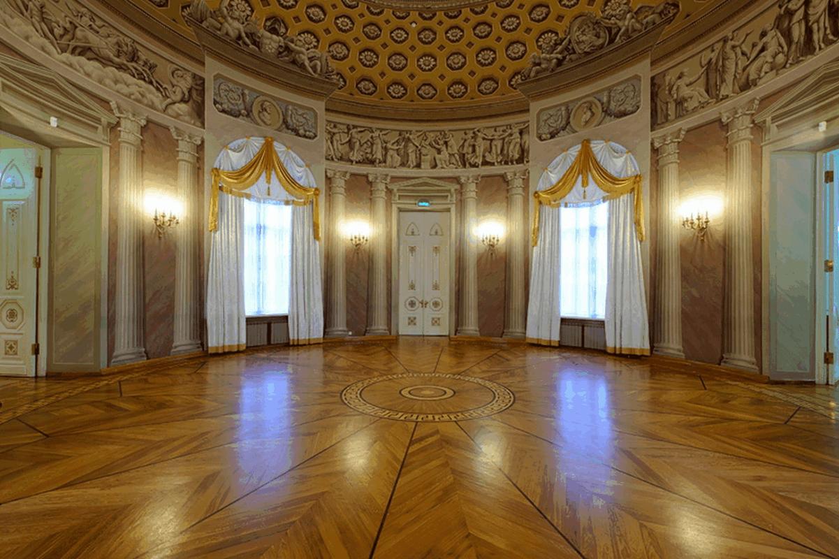 залы усадьбы Люблино