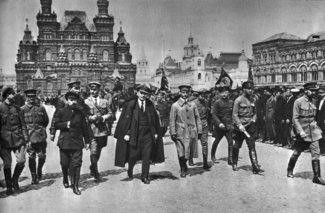 Ленин в Москве во время революции