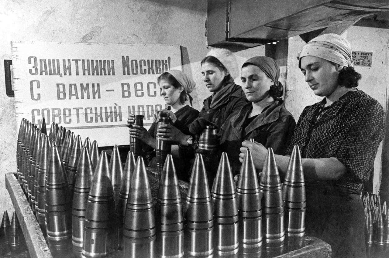 Москва. Испытание войной
