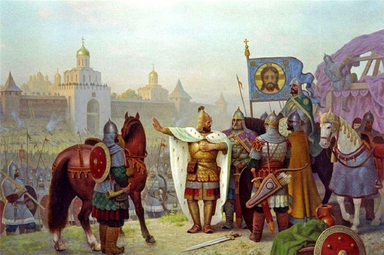 Основание Москвы — предание предков
