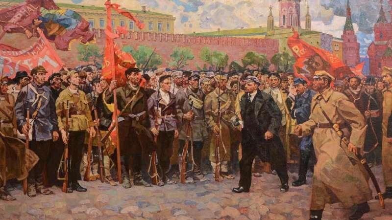 Москва в годы Великой октябрьской социалистической революции
