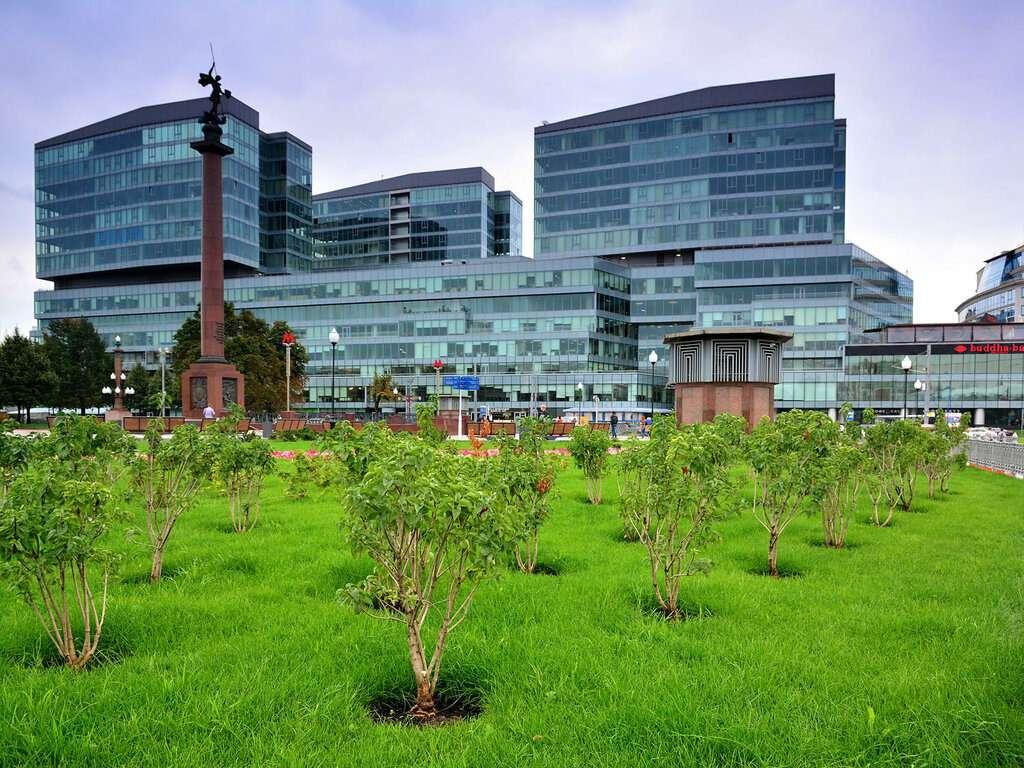 Многофункциональный комплекс «Легенда Цветного» в Москве