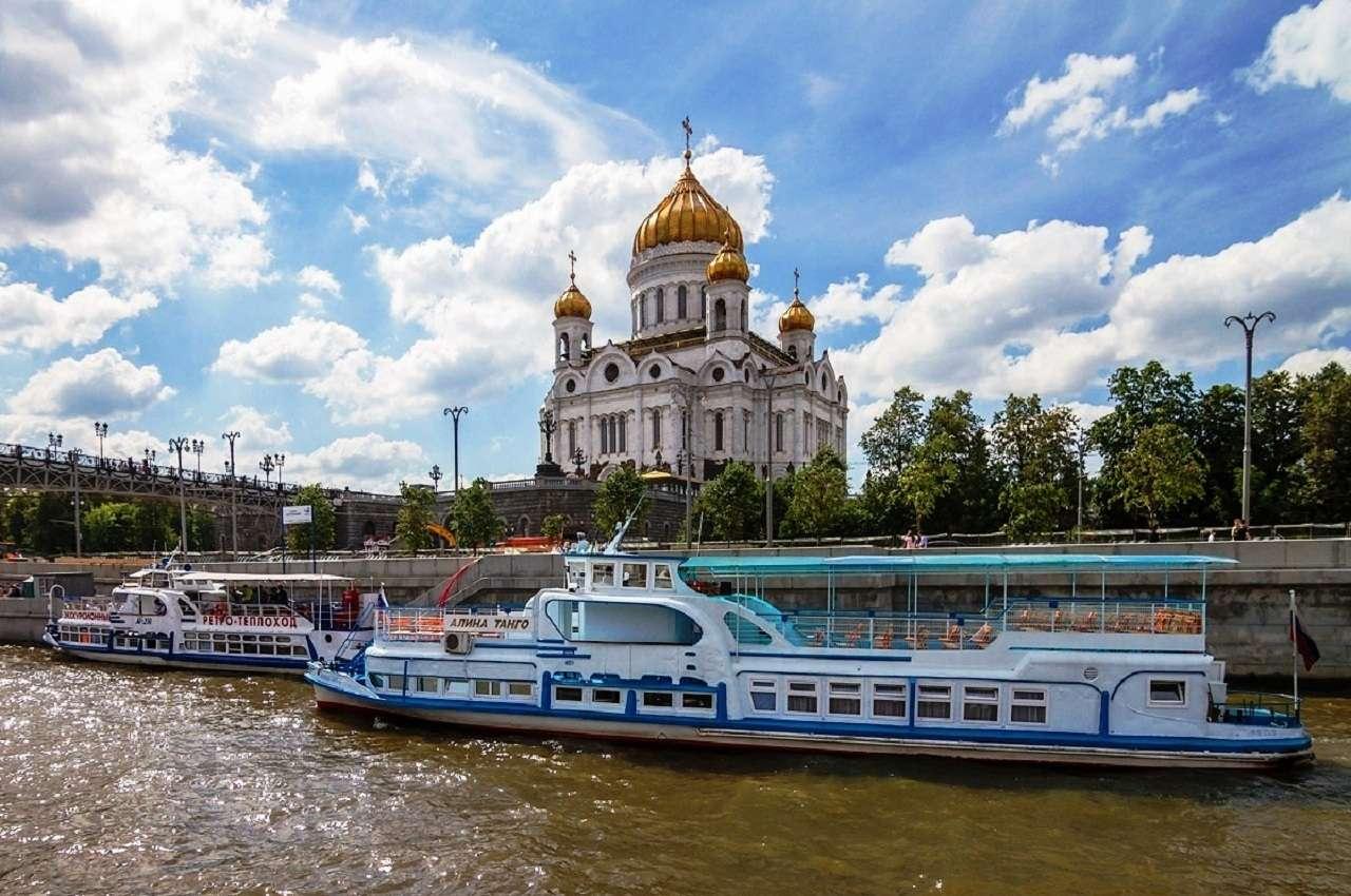 Круиз «Жемчужина Москвы»от причала«Патриарший» на Москве реке