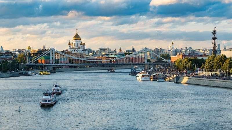 Прогулки по Москве реке