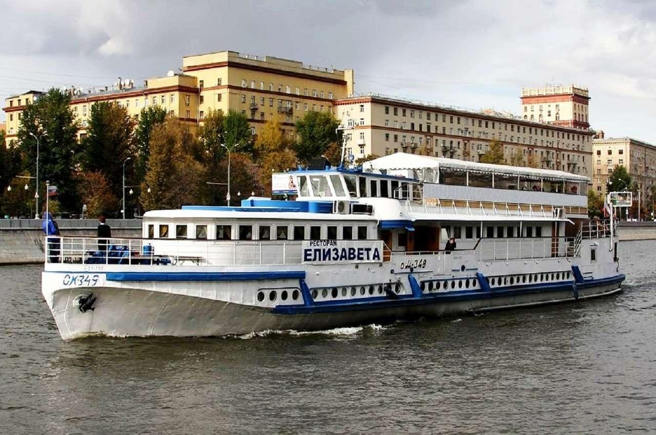 Мини-круиз по Москве-реке на теплоходе-ресторане