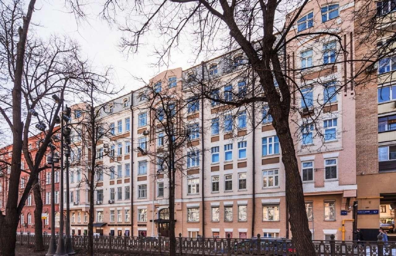 Дом № 15 – доходный дом архитектора А. С. Гребенщиковав Москве