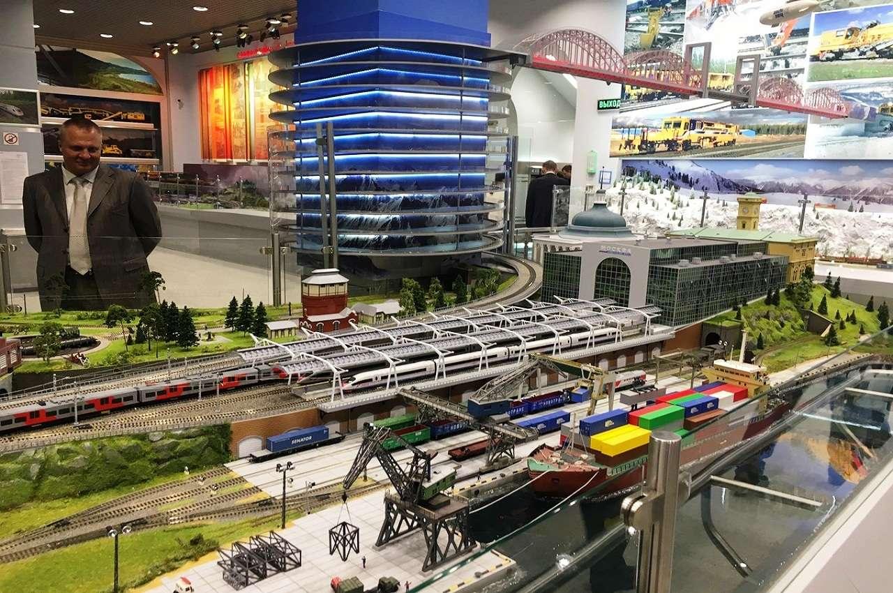 Выставочный комплекс РЖД в Москве
