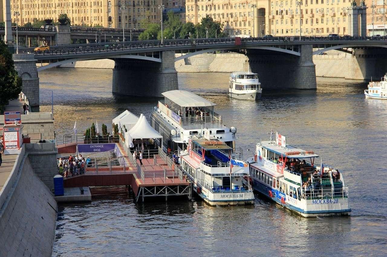 Речная прогулка по Москве-реке от «Киевского вокзала»