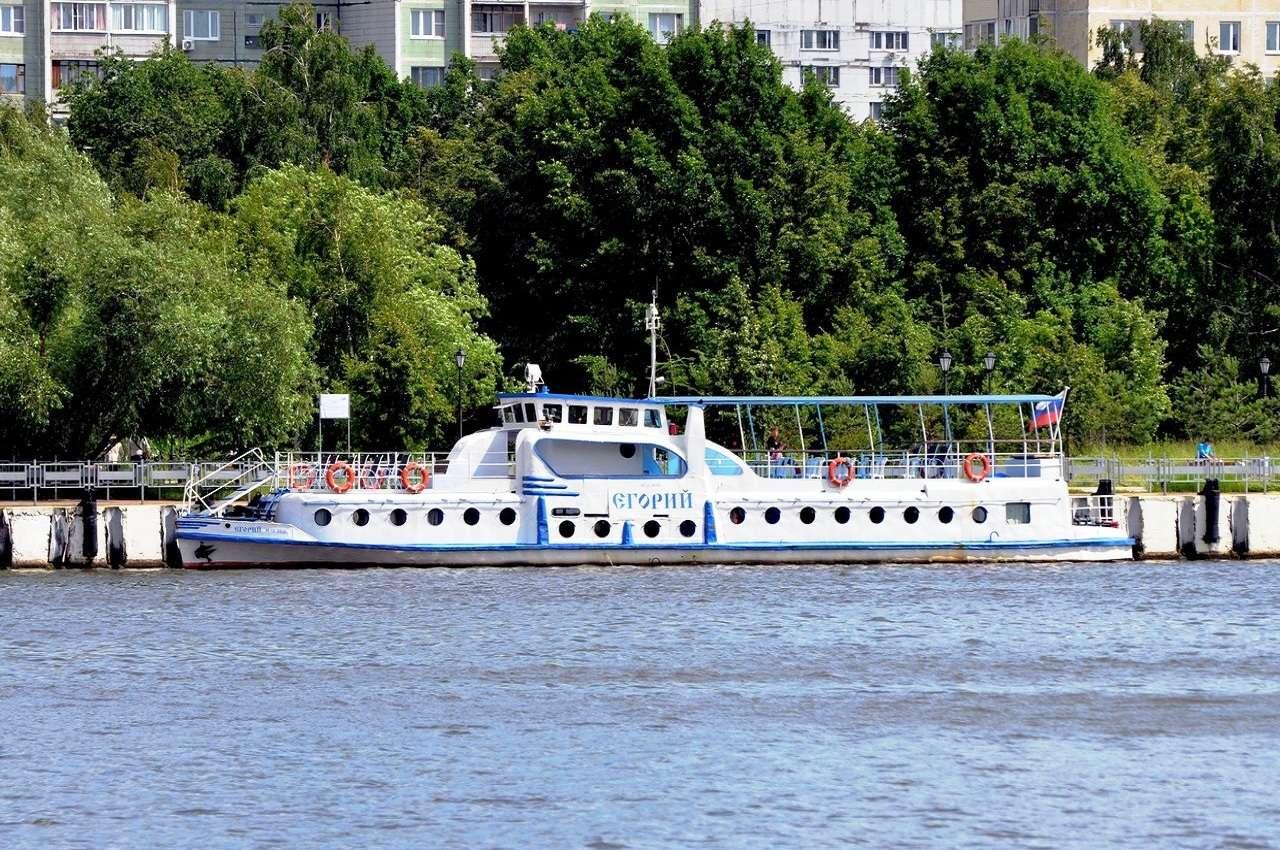 Прогулка на теплоходе по Москве-реке по маршруту «Печатники»– «Парк Горького»