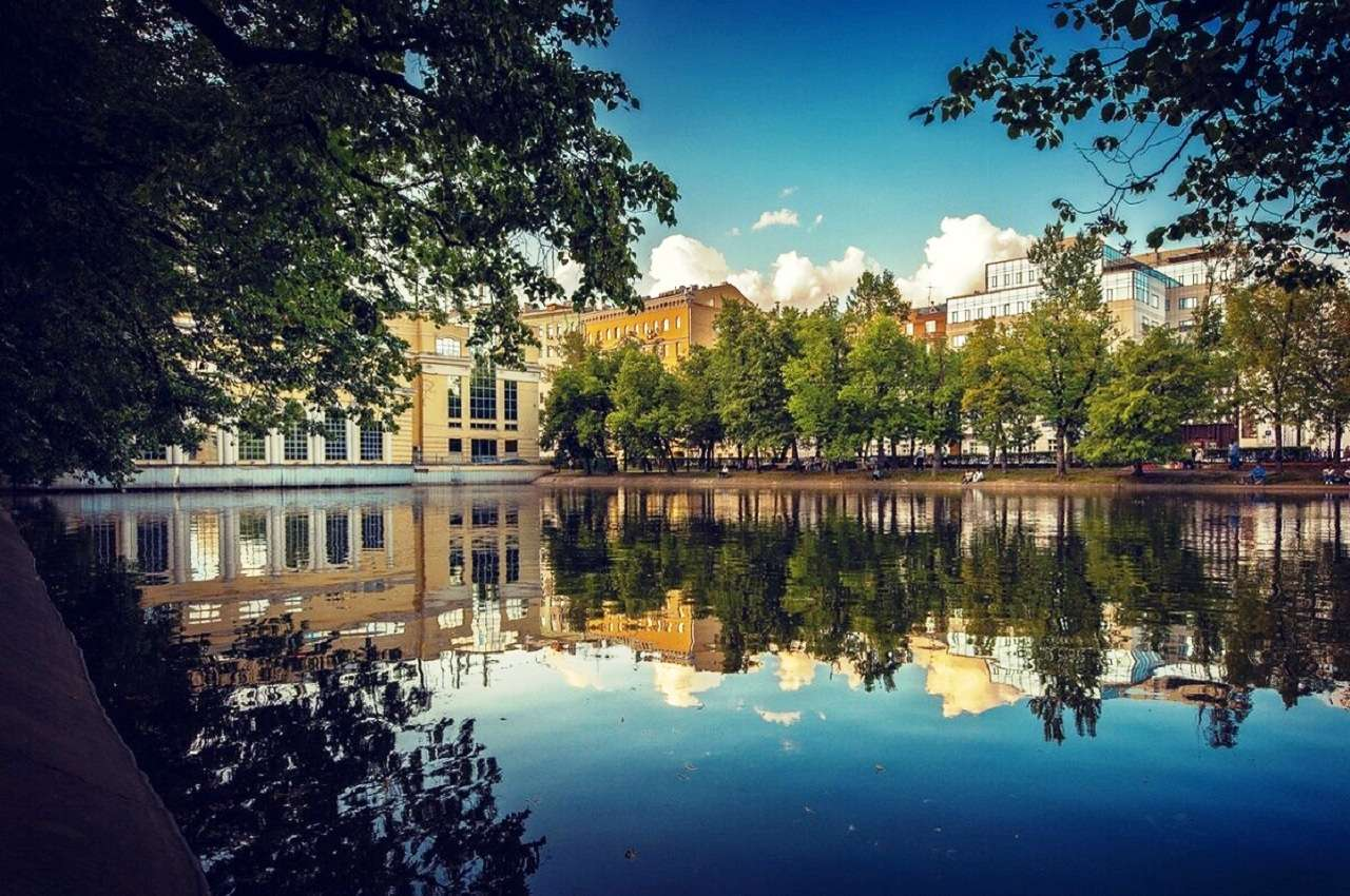 Чистые пруды в Москве