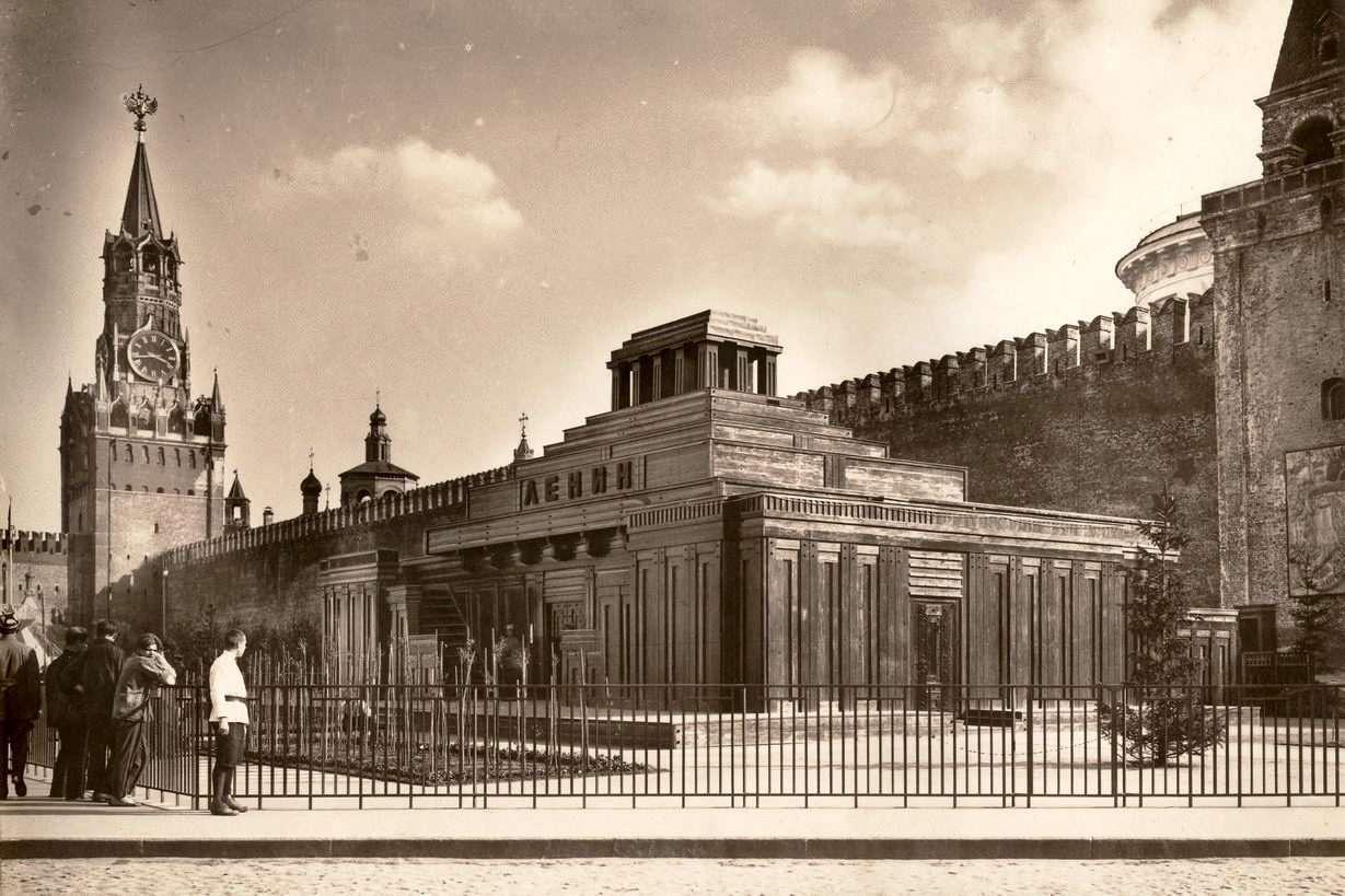 Мавзолей август 1924 года