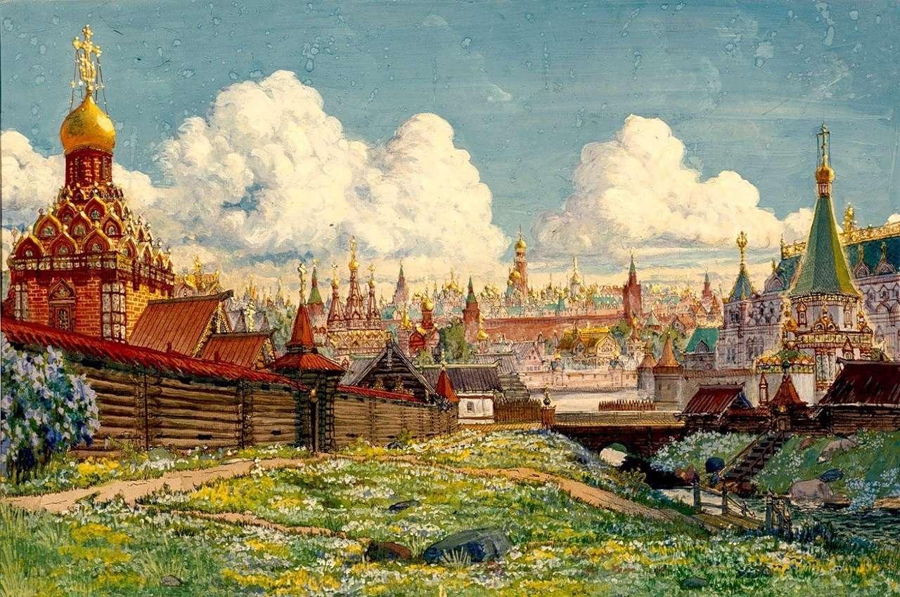 Объединение земель Москвы