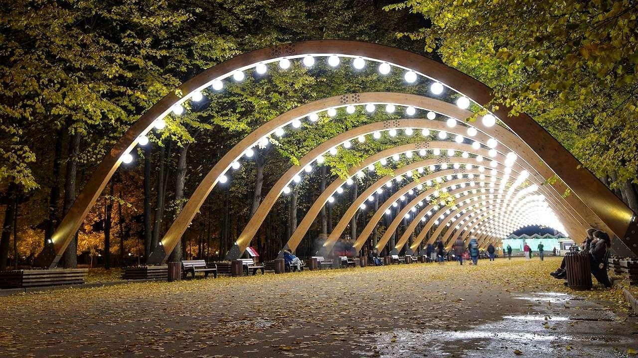 Парк «Сокольники»в Москве