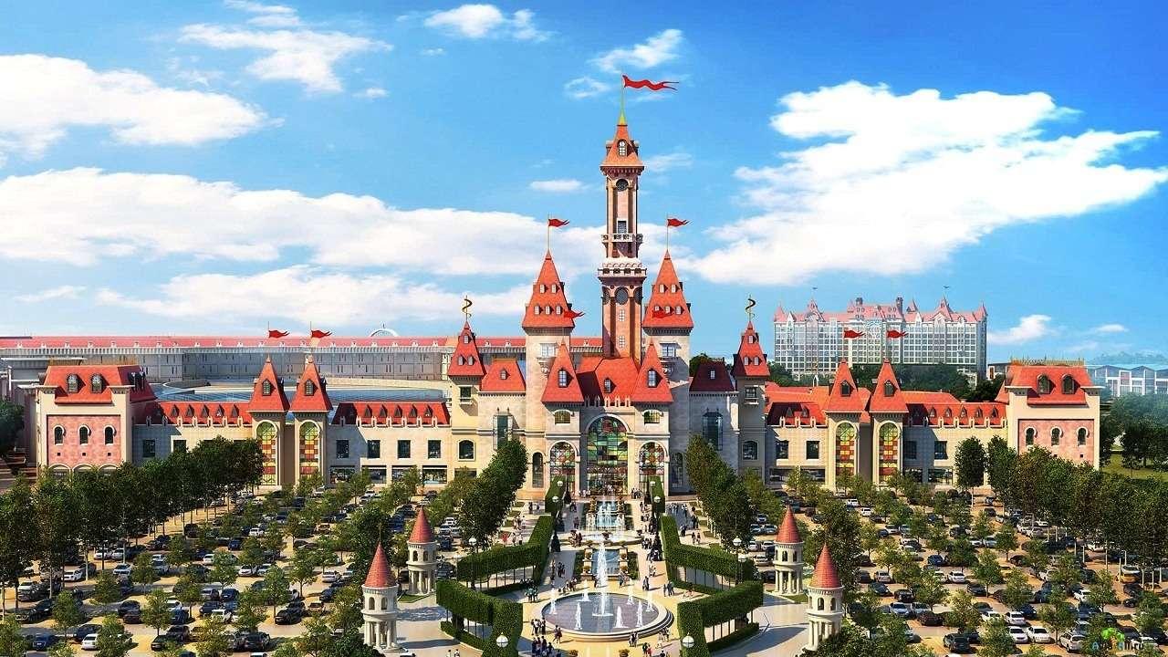 Парк развлечений «Остров мечты» в Москве