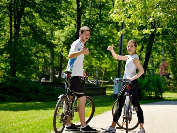 Прогулки на велосипеде в Москве