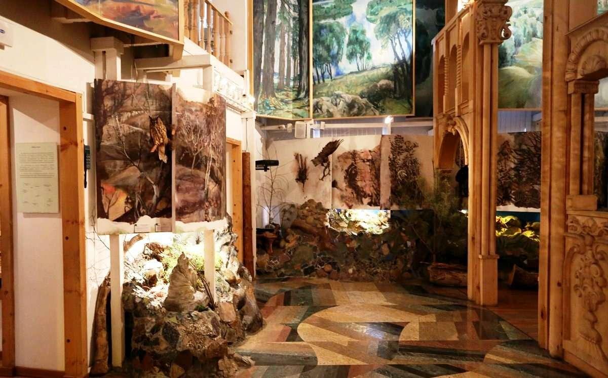 Российский музей леса в Москве