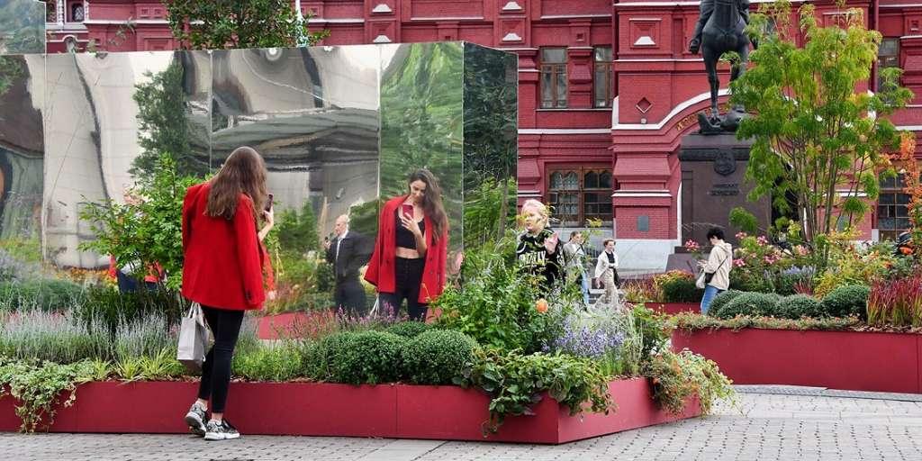 Празднование 874 летия Москвы