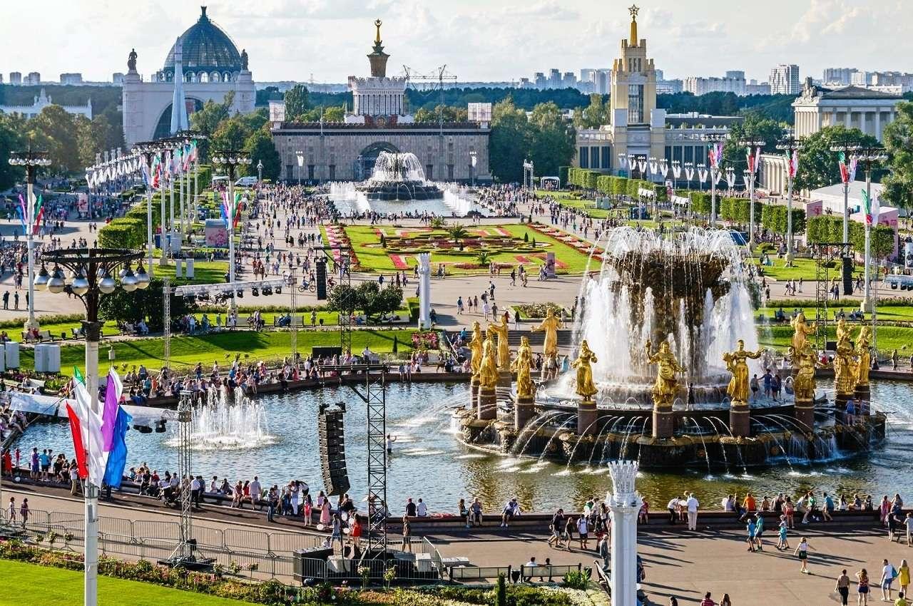 ВДНХ и парк Останкино в Москве