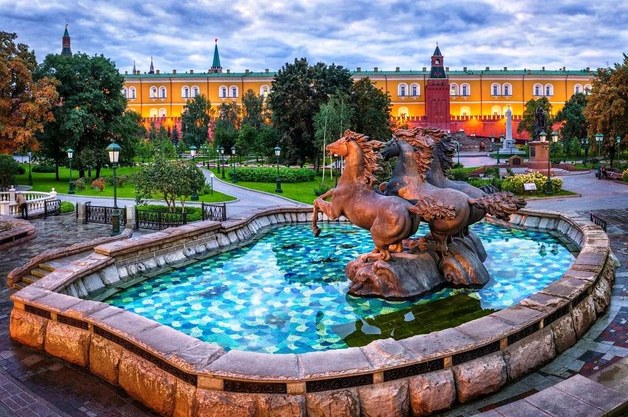 Александровский садв Москве