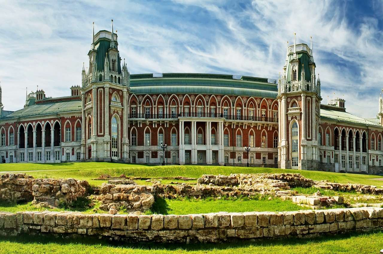 Музей-заповедник Царицыно в Москве