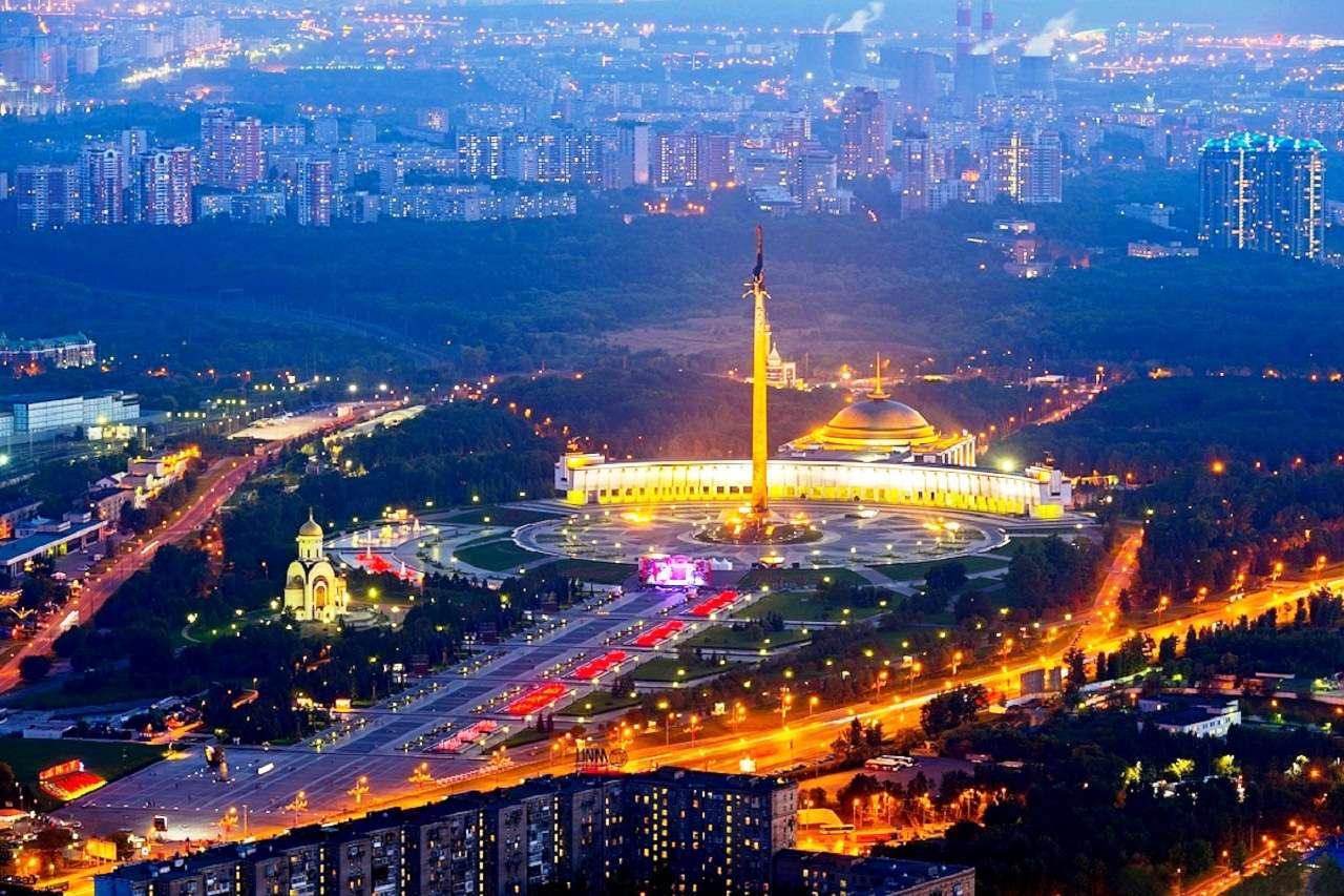 Поклонная гора и Музей Победы в Москве