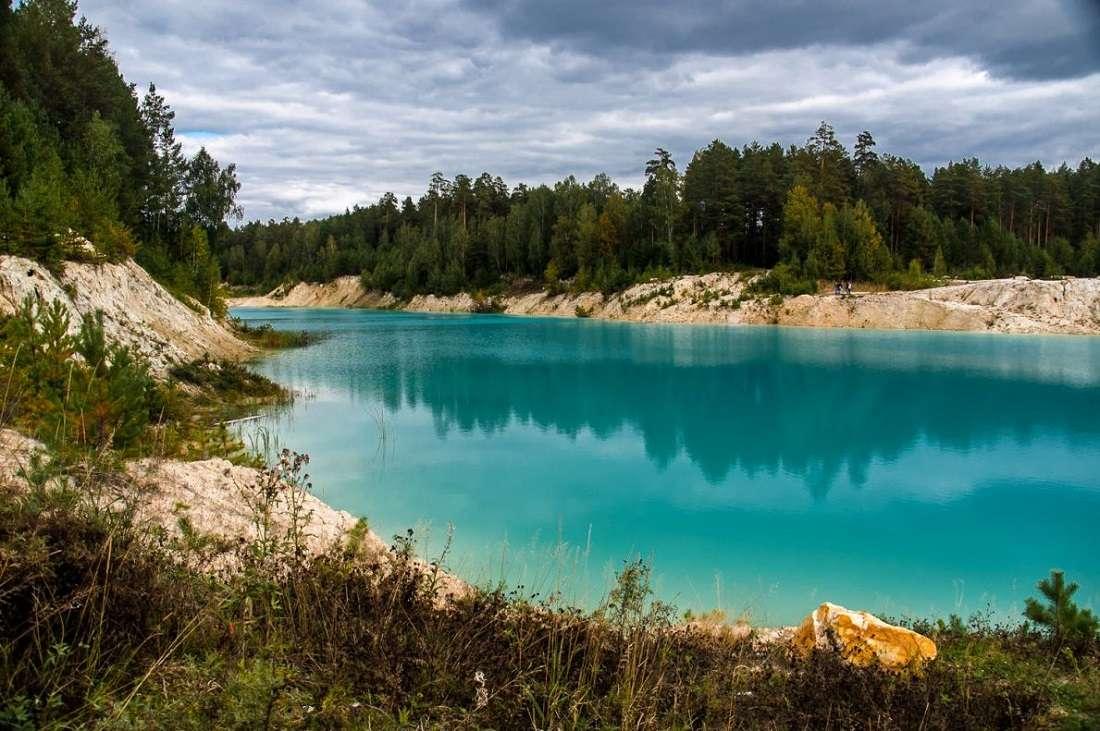 Карьер в Золотово (Голубое озеро)