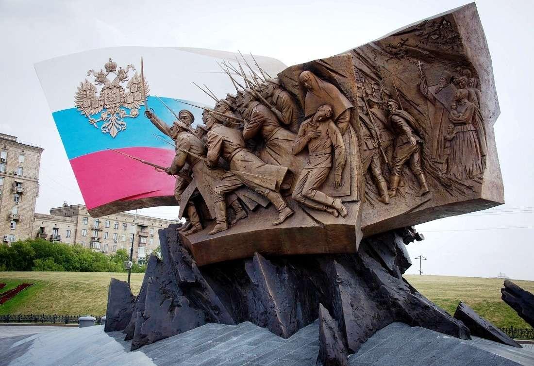 Памятник героям Первой мировой войны на Поклонной горе