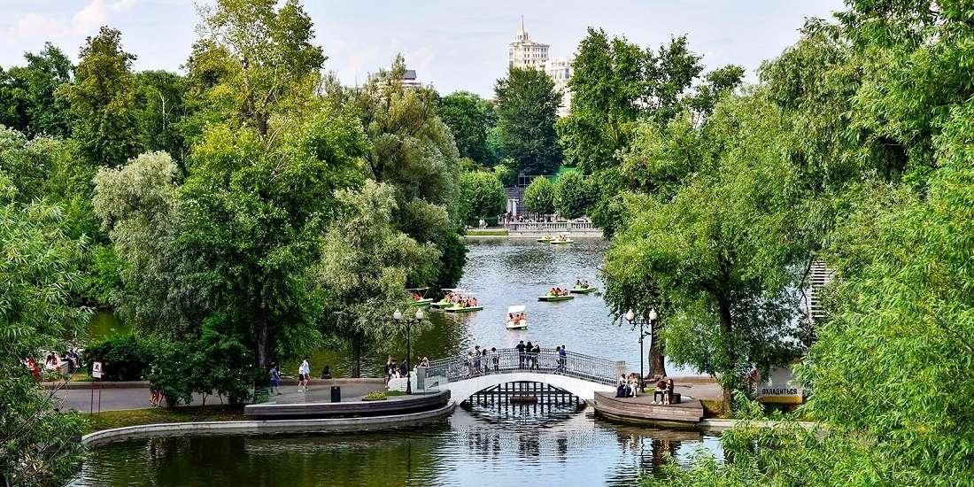 Парк Горькогов Москве