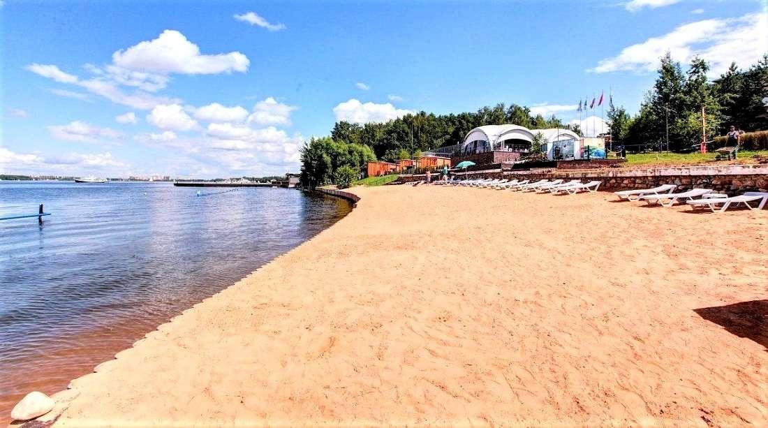 Пляж «Дубрава» в Подмосковье